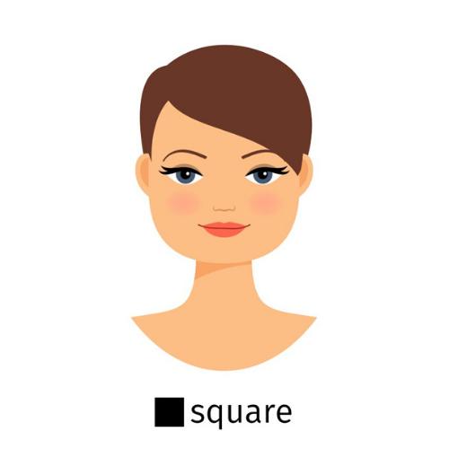 Square Face Shape - Vision Center