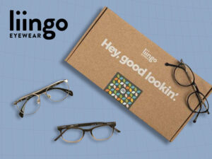 Liingo Eyewear Logo and Glasses